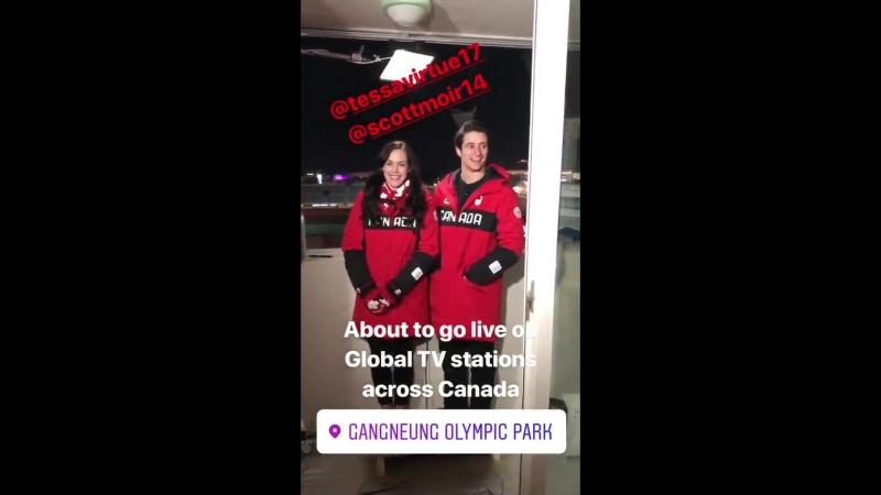 📽 Reid First instagram story February 21th