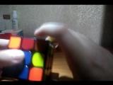 Обучение по сборке кубика Рубика.(Часть 4) крест на верхней шапке.