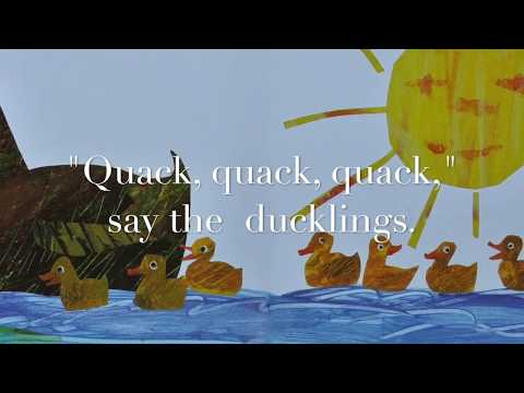 10 Little Rubber Ducks w Words, EFX Music