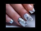 Литье и Вензеля. Восхитительный зимний дизайн ногтей.