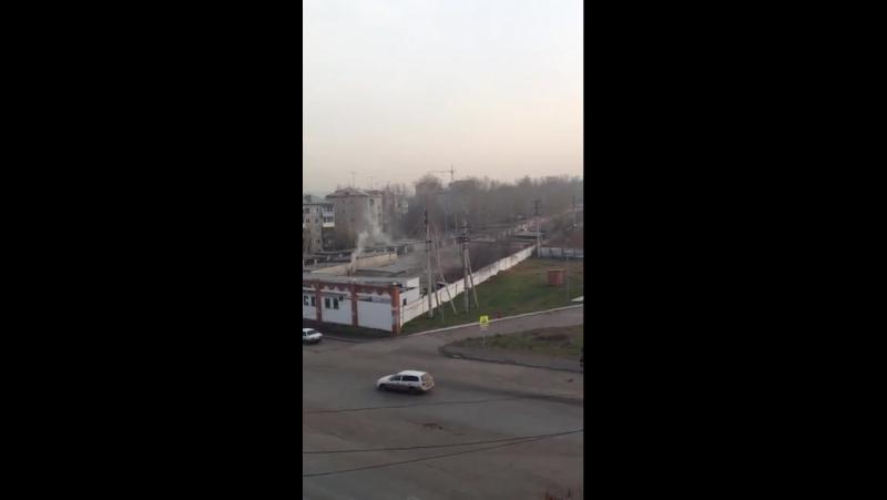 Как автосервис загрязняет воздух в Красноярске