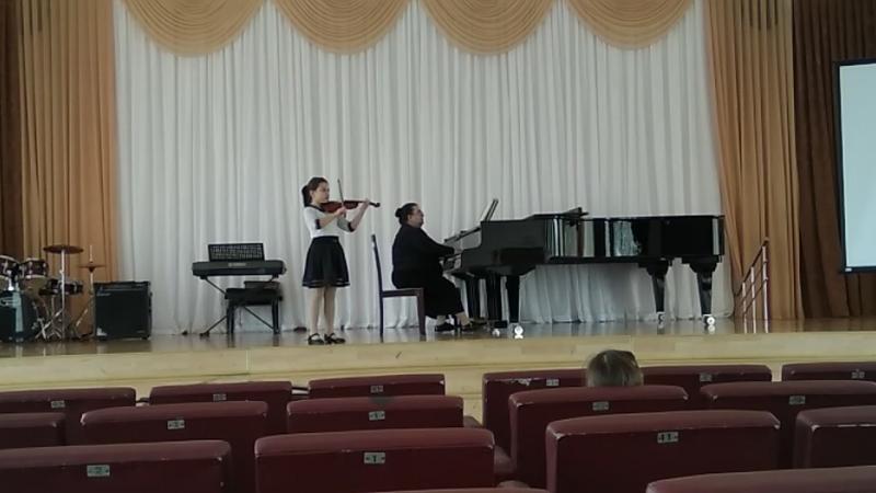 Билялова Гульсум III место на II Региональном туре Республиканского смотра- конкурса исполнительского мастерства Юный виртуоз- 2