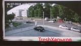 Момент наезда на мотогонщика Андрея Бессонова  Запись с камеры