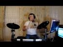 Into the fire In Roch 1970g Deep Purple drum cover Pautov Wladimir MAH00888