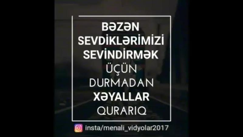 Bəzən birini görmək ücün səhəri ümüdlə gözləyirik