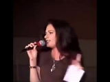 Danielle Cormack and Hudson leick at the 04 xena con singing