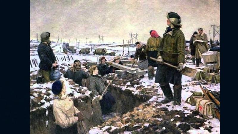 История России. Великая Отечественная война. Битва под Москвой