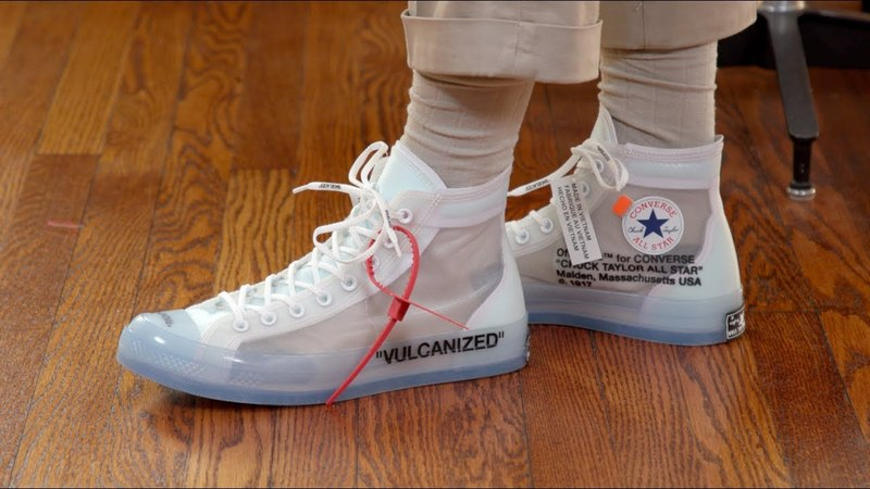 Off-White Converse Chuck Taylor Style Tips