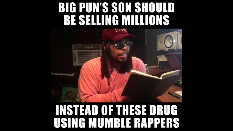 Chris Rivers is the son of the legendary Big Pun and just like his father hes an incredible MC!