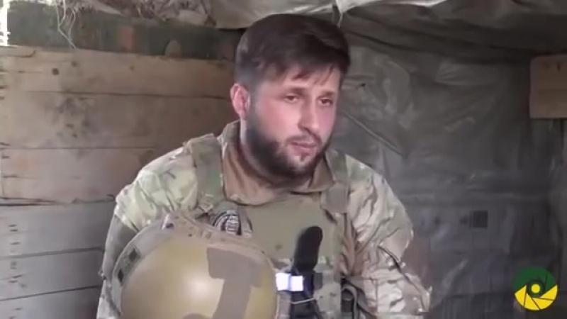 ЗСУ войши в пос. Южное в предместьях Горловкиу Среди боевиков паника
