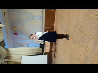 Выступление Ксении Ромадовой