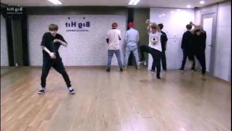 [v-s.mobi]BTS - Boy in Luv - mirrored dance practice video - 방탄소년단 상남자 (Bangtan Boys)