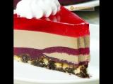 Шоколадно смородиновый торт без выпечки / группа в ВКонтакте: ТОРТ-РЕЦЕПТ-VK