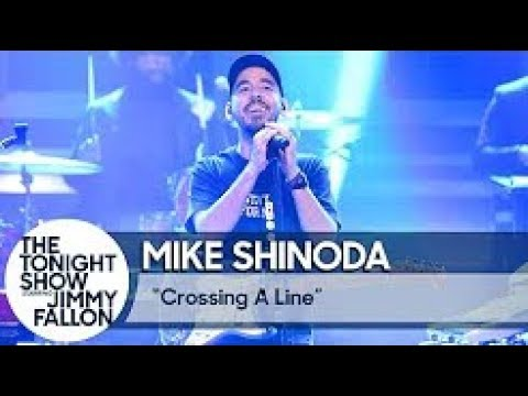 Mike Shinoda - Crossing a Line [LIVE at The Tonight Show Starring Jimmy Fallon] (Subtitles)