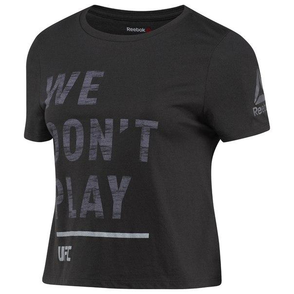 Укороченная спортивная футболка UFC Ultimate Fan Logo