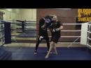 Бокс Специфический апперкот в ближнем бою Boxing Side step and uppercut