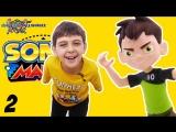 Мир мальчишек • ЯРИК и БЕН 10 играют в SONIC MANIA! Обзор игры: часть 2.