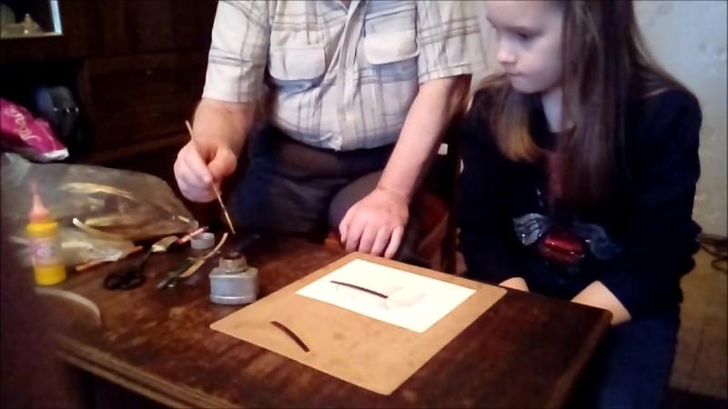 Мастер-класс по изготовлению картин из соломки