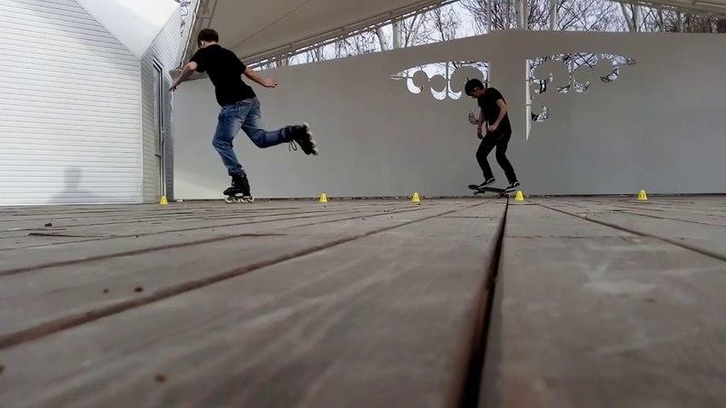 Skate in Taraz city. Part 2   Покатушки в городе Тараз. Часть 2