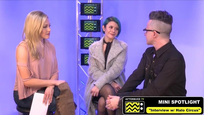 Allison Iraheta Halo Circus - интервью c Morgan Willett для AfterBuzz TVs Mini Spotlight (15 марта 2018)