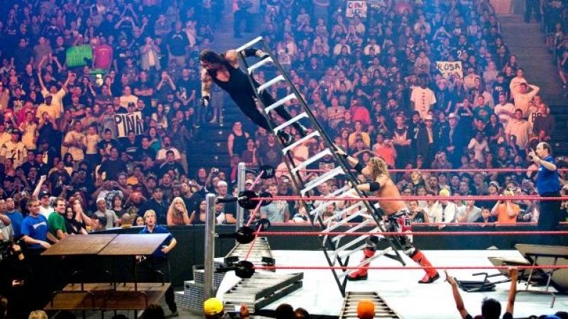 (WWE Mania) One Night Stand 2008 Undertaker(c) vs Edge (TLC Match)
