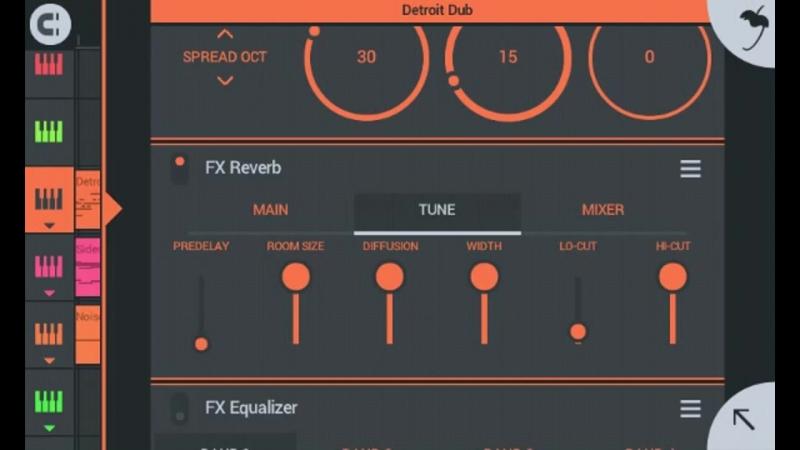 Использование эффектов (FX) для яркого выражения звука