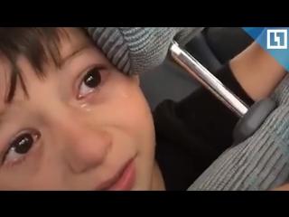 Мальчик рыдает из-за перехода Роналду в «Ювентус»