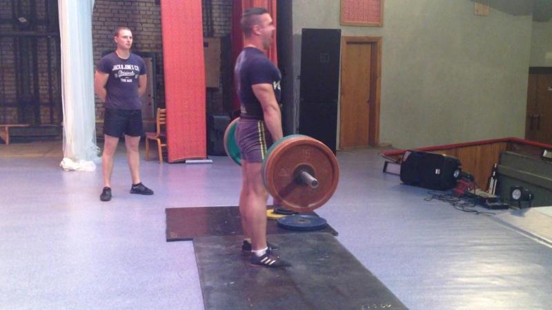 Роман Храмцов становая тяга 200 кг