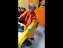 Арсений Ильич на стирке