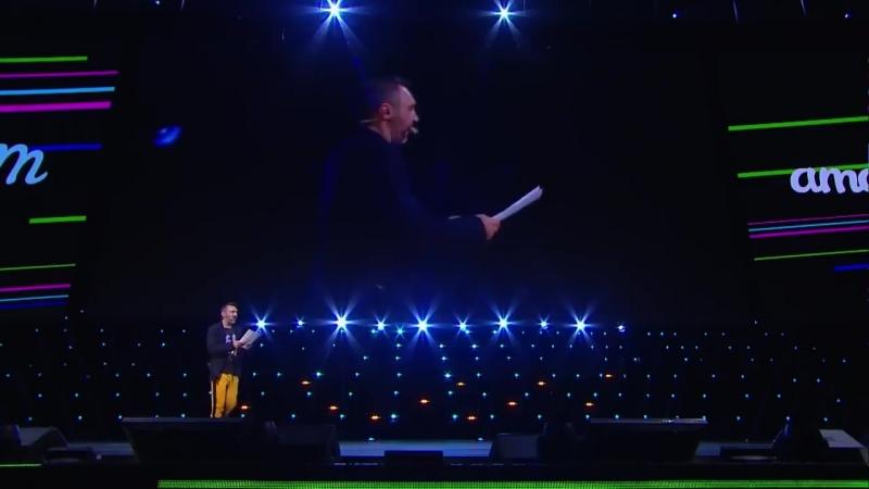 Сергей Шнуров про медийность, успех и время на amoconf 2018 в Олимпиийском