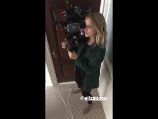 Shay Mitchell's Instagram Story (23 октября 2017) ft. Elizabeth Lail