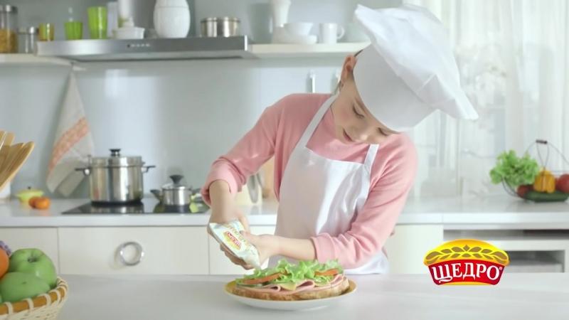 Майонез Домашній для дітей Як зробити дитячий бутерброд -Щедро - PAPAcasting UA.mp4