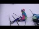 06 03 18 Дневная треня Эвелинка и Ульянка падают в снег