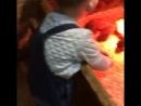 Сынуля в трогательном зоопарке