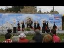 д Самушкино(2018 г ) . Танцуют девочки из Ст Ладоги