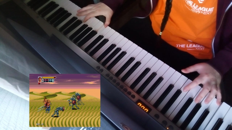 The Scorching Sand (Golden Axe III) Piano Cover