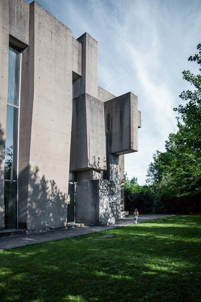 The Bizarre Brutalist Church that Is More Art than Architecture