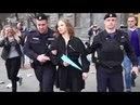 Акция в защиту Telegram у здания ФСБ Задержания