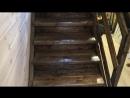 Деревянная лестница на 2-й этаж за 5000 рублей