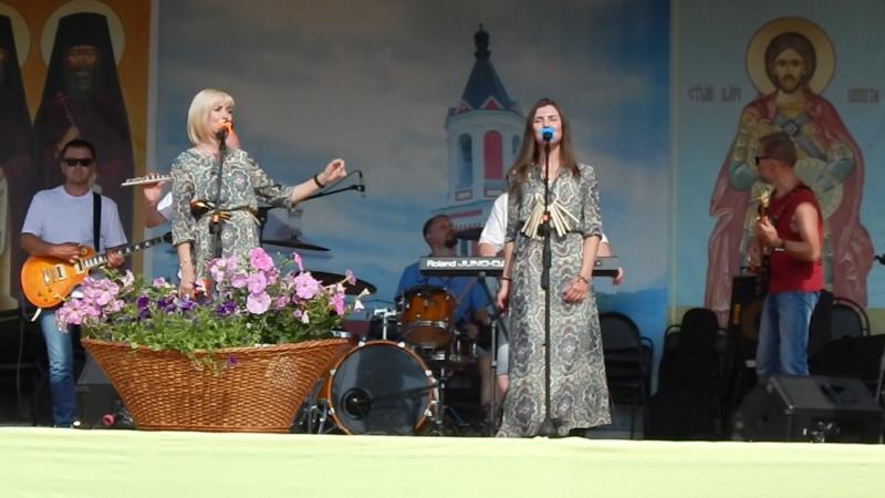 АРТ-фолк группа ЕжеВикА(Тамбов) на 13-м Кузнечном фестивале в Бывалино 15.07.2018., Дума.