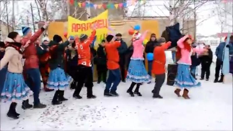 Проводы зимы 18 марта 2018г Дуванский р-н с.Сикияз ул.Д.М.Араловец