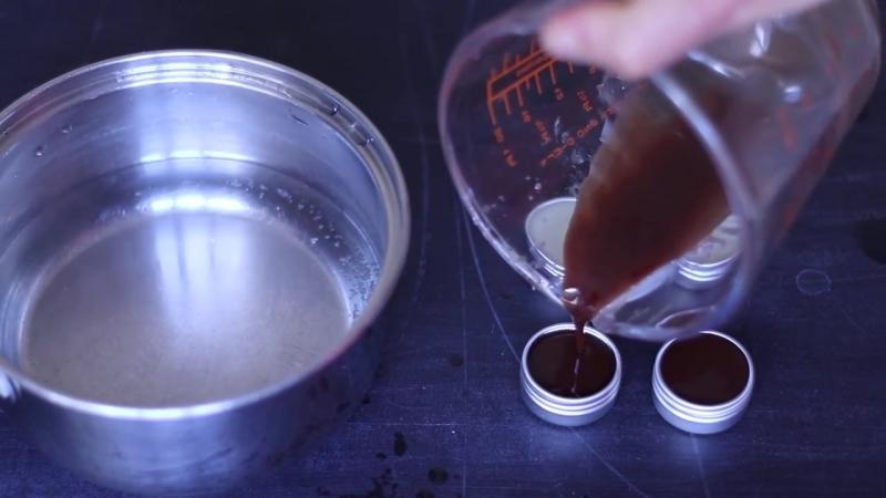 ♡ БАЛЬЗАМ ДЛЯ ГУБ ♡ шоколадный и натуральный - Домашний рецепт