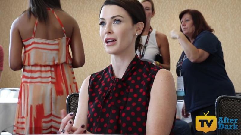 Bridget Regan (Sasha Cooper) from The Last Ship at SDCC 2016 Interview