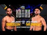 UFC 222 John Dodson vs Pedro Munhoz