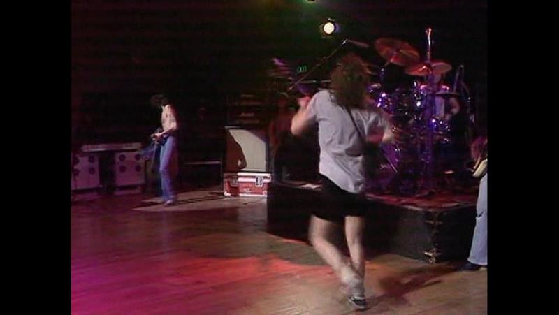 AC DC At The Hippodrome Golders Green London 1977 With Bon Scott