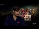 Henry Cavill brought his dog to interviews for Justice League - KING 5 Evening