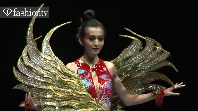 Legend Of The Dragon - Couture Fashion Show by Guo Pei in China _ FashionTV