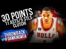 Derrick Rose Full Highlights 2010.12.4 vs Rockets - 30 Pts, 11 Ast, 5 Stls, CLUTCH! | VintageDawkins