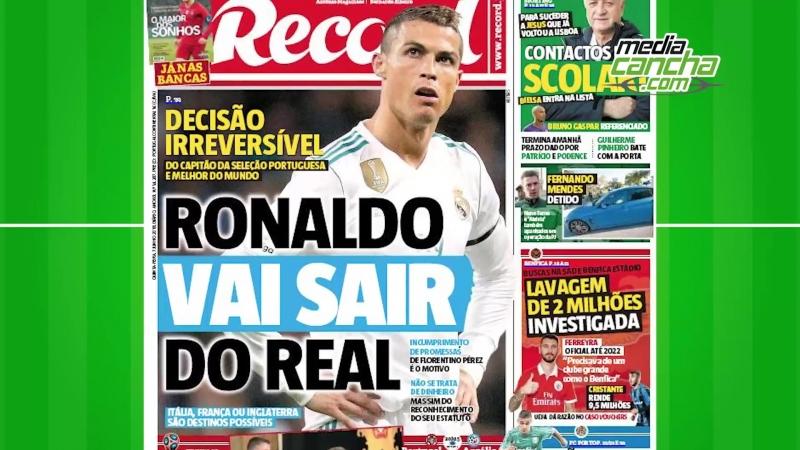 Aseguran que Cristiano dejará al Real Madrid