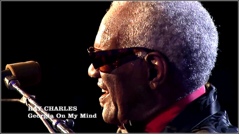 Ray Charles «Georgia On My Mind» (Montreux 1997)